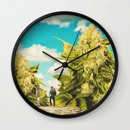 Hiker's Paradise Wall Clock