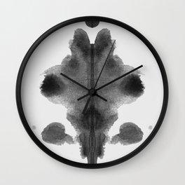 Form Ink Blot No. 7 Wall Clock