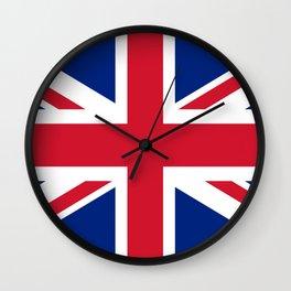 UK FLAG - Union Jack Authentic Wall Clock