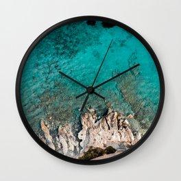 Amathus Ruins Wall Clock