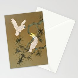 Wild Cockatoos Stationery Cards