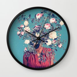 The First Noon I dreamt of You Wall Clock