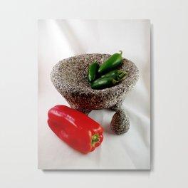 Mexican mortar Metal Print