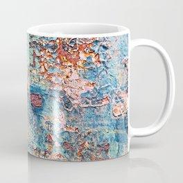 Abstract Rusty Metal Weathered Texture Coffee Mug