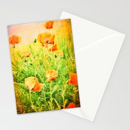 SPRING POPPIES Stationery Cards