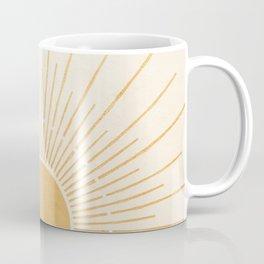 Sun #5 Yellow Coffee Mug