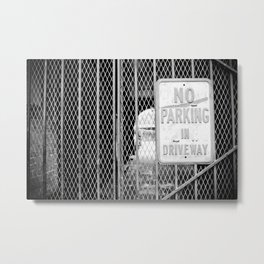 Signs: No Parking Metal Print