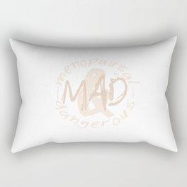 Menopausal & Dangerous No.2 Rectangular Pillow