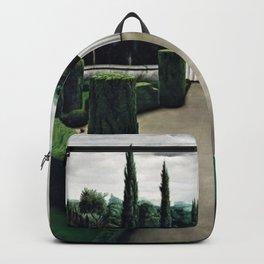 Classical Masterpiece 'Florentine Garden' by Pyke Koch Backpack