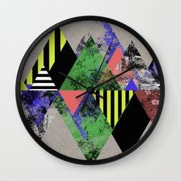 Triangles! Wall Clock