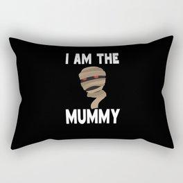 I am The Mummy Mom Mother Halloween Rectangular Pillow