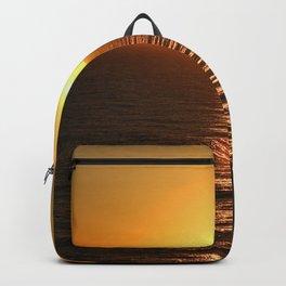Caribbean, Sunset, Sea, Grand Turk Island, Photography, BebiCervin Backpack