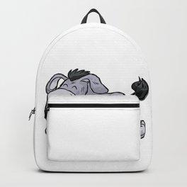 CUTE BABY DONKEY Cartoon Mule Comic Gift Present Backpack