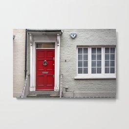 9 Bywater Street Chelsea George Smiley's London Flat Metal Print