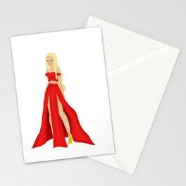 Mor Dress Design Stationery Cards