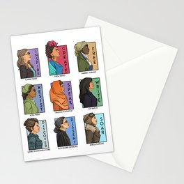 She Series - Real Women Collage Version 1 Stationery Cards