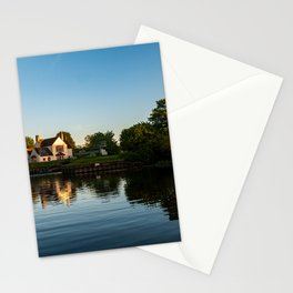 River Great Ouse from a boat (3) Stationery Cards