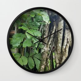 Leaflet Burst of Collective Torso Wall Clock
