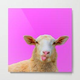 Shaun the sheep Metal Print
