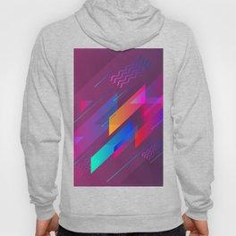 Girly Purple Abstract Art Design Hoody