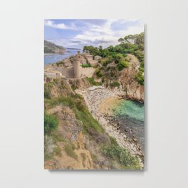 Tossa de Mar Metal Print