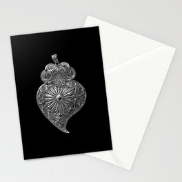 Heart of Viana-Portuguese filigree-Jewellery Stationery Cards