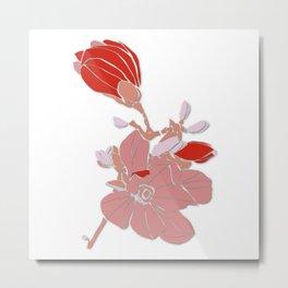 Magnolia Blossom 03 Metal Print