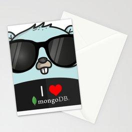 I love mongo Stationery Cards
