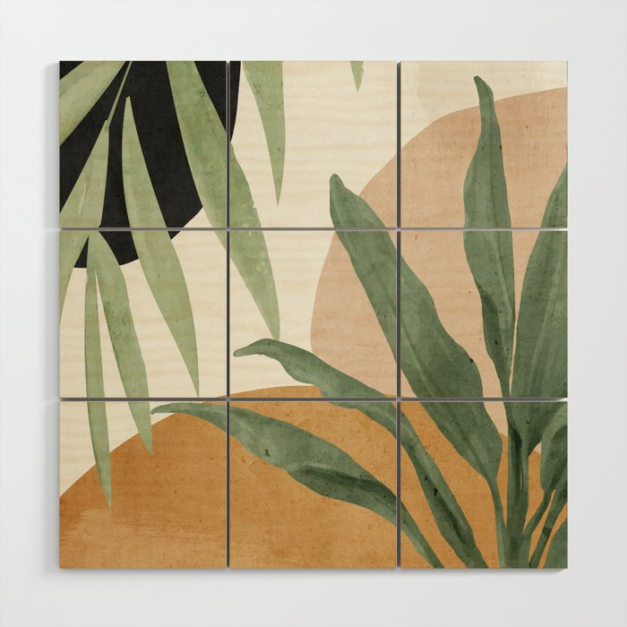 Abstract Art Tropical Leaves 4 Wood Wall Art By Thindesign Society6 Choose from over a million free vectors, clipart graphics, vector art images, design templates, and illustrations created by artists worldwide! abstract art tropical leaves 4 wood wall art by thindesign