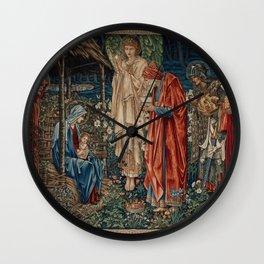 "Edward Burne-Jones ""The Adoration of the Magi"" Wall Clock"