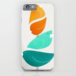Bird Stack II iPhone Case