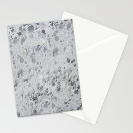 Silver Hide Print Metallic Stationery Cards