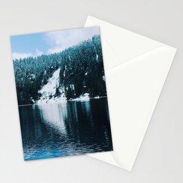 still cool blue Stationery Cards