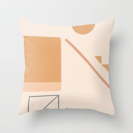 #12 Moving Space Throw Pillow