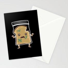 Toast Bread Zombie Sandwitch Stationery Cards