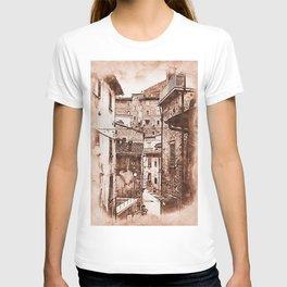 Scanno, an ancient italian town T-shirt