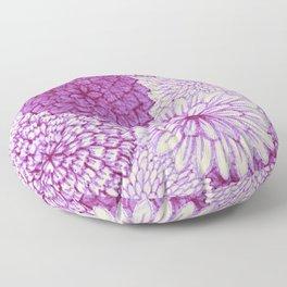 Watercolor Bouquet - Orchid Floor Pillow