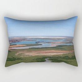 Port Hedland Arial  Rectangular Pillow