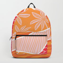 kauai, orange Backpack