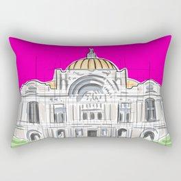 Bellas Artes architectural city ecopop Rectangular Pillow