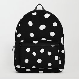 White Painted Dots Backpack