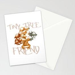 Tiny Tree Friend Bonsai Art Lover Gift Stationery Cards