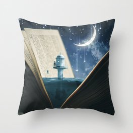 Storybook by GEN Z Throw Pillow