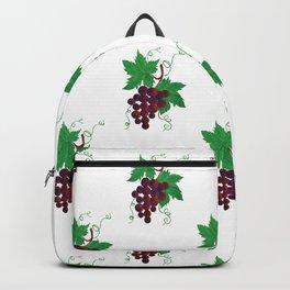 Purple Grapes on vine Backpack