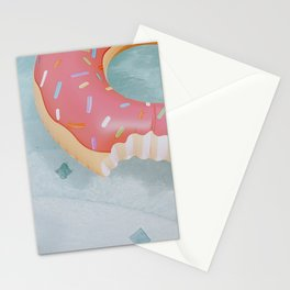 pool time iii / donut Stationery Cards