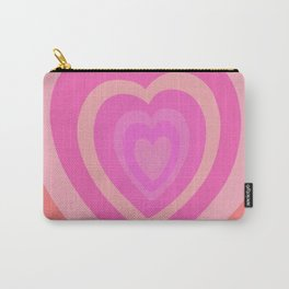 Love Me Like You Do - peach red Carry-All Pouch