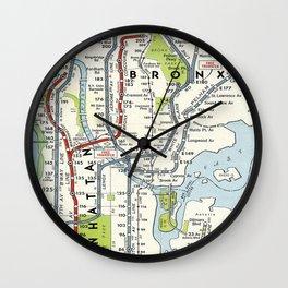 Metro NY Wall Clock