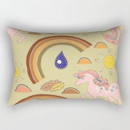 Unicorns Rectangular Pillow