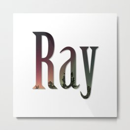 Ray Metal Print