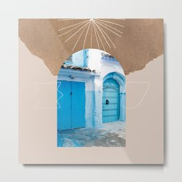 The Moroccan entrance  Metal Print